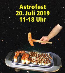 Astrofest Grillwurst-Bild im Weltall