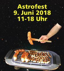 Astrofest Grillwurst-Bild
