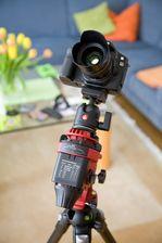 Montierte Kamera auf Star Adventurer Reisemontierung von SkyWatcher bei Intercon Spacetec