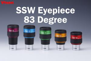 Reihe von Vixen SSW Okularen